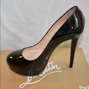 "Christian Louboutin ""Bianca"" Patent Leather Pumps"